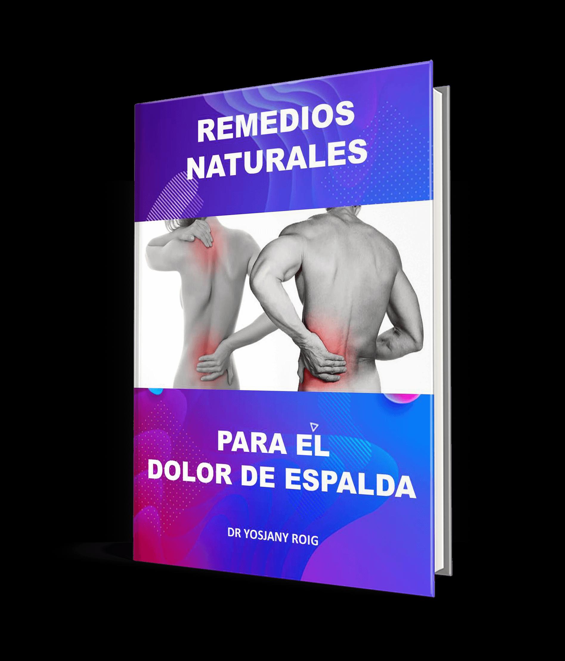Remedios naturales para el dolor de espalda bono adiós insomnio